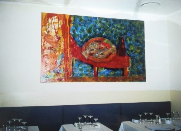 "Art design ""Le Faubourg"" restaurant"
